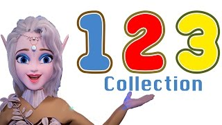 Fun Frozen Land Learning Compilation: Learn Counting 1-20 and More!