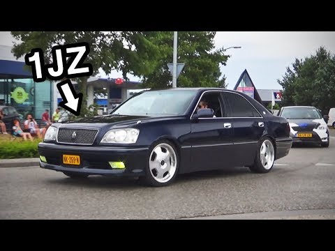 Toyota Crown Athlete V 1JZ-GTE Acceleration Sound!
