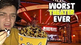 Going To The Worst Reviewed Movie Theater In My City! (1 STAR)