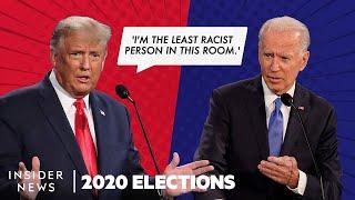 Highlights From Trump's and Biden's Last Presidential Debate