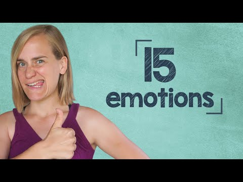 German Lesson (247) - 15 Emotions - Expressing Joy, Surprise, Sadness, Shock and Disappointment - B1