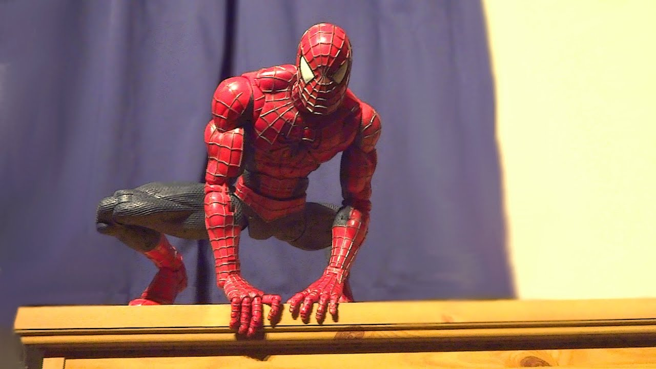 Coolest Man Toys : The best spider man figure ever youtube