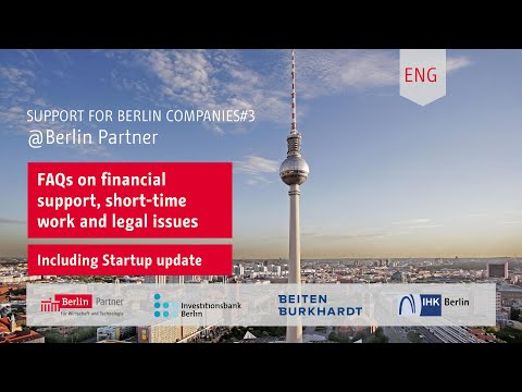Support for Berlin companies #3 (English Version)