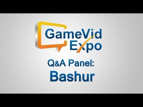 Bashur Q&A Panel (GameVidExpo 2014)