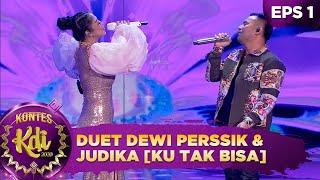 Download lagu PECAHHH!! Duet Dewi Perssik & Judika Bikin Semua Joget [KU TAK BISA]  - Kontes KDI 2020 (3/8)