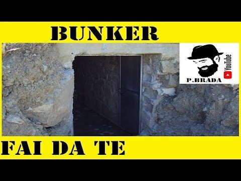 Costruzione bunker cantina fai da te by paolo brada diy for Progetto tornio fai da te