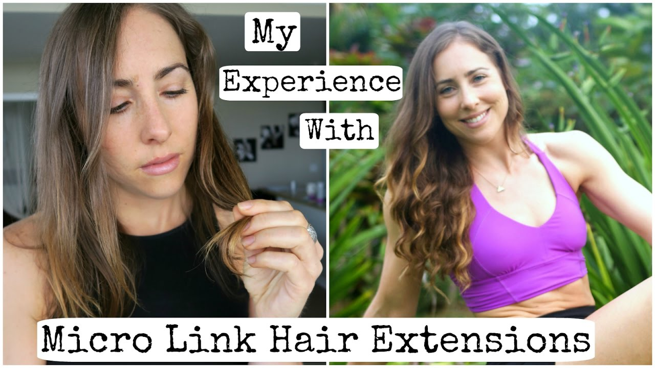 My Experience W Micro Link Hair Extensions Why I Took Them Out