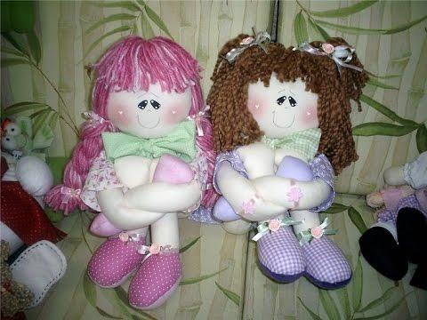 Куклы своими руками из ткани
