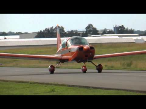 Grumman Traveler N7131L landing, Taxi & Takeoff at KHWY on 6/15/11
