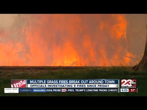 Fire season off to a busy start in Kern County