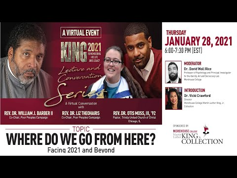 Annual Morehouse College Martin Luther King Jr. Lecture and Conversation