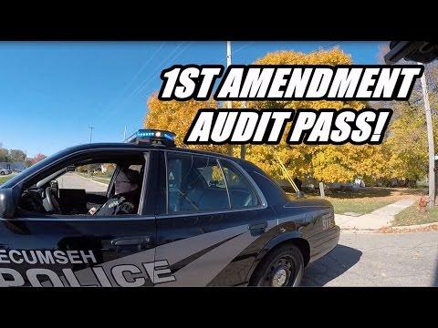 1st Amendment Audit: Tecumseh Police!