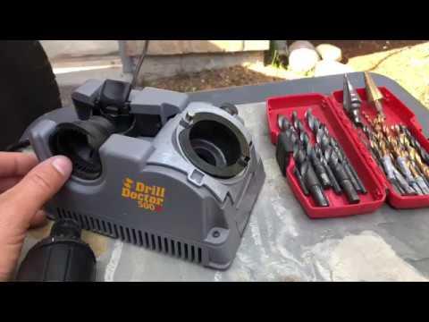 Drill Doctor 500X Drill Bit Sharpening