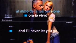I Belong To You, Ramazzotti - Anastacia ( Karaoke )