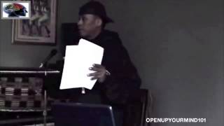 Professor Griff - How The Illuminati Plan To Destroy The Black Race (Unseen Foot