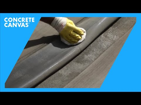 Concrete Canvas Thermally Bonded Overlap Joint Guidance