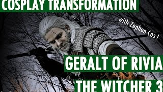 Cosplay Transformation - Geralt of Rivia -  by Zephon Cos, and Azure Cosplay thumbnail