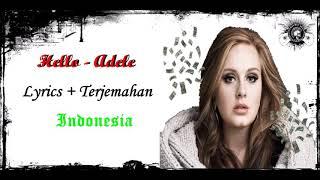 Hello Lirik dan Terjemahan | Adele