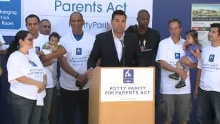Sen. Lara - Potty Parity for Parents Act