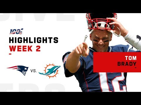 Tom Brady's 3-TD Victory | NFL 2019 Highlights