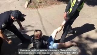 Новая Полиция украла скутер у молодого парня. БЕСПРЕДЕЛ!