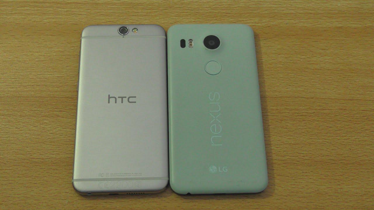 HTC One A9 vs Nexus 5X - Speed & Camera Test (4K)