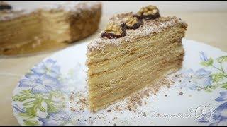 Торт Медовик (Рыжик) классический с заварным кремом
