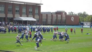 NY Giants RB Andre Williams Short Run at the 2015 Giants Training Camp