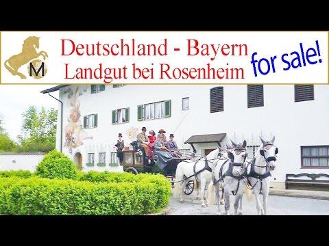 SOLD: Reitimmobilie, Landgut, Gutshof, Süd-Deutschland, Bayern, München, Rosenheim