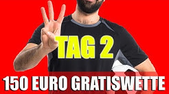 Let's Bet! - Zweiter Tag bei der Tipico-150-Euro-Gratiswetten-Challenge