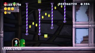 New Super Mario Bros. U - 7-Ghost House: Meringue Clouds (Spinning Spirit House) REGULAR EXIT