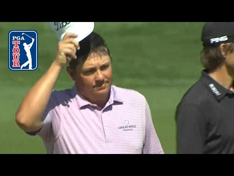 Jason Dufner holes 176-yard approach for eagle at the Memorial