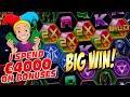 MASSIVE €4000 Bonus Opening Results with many BIG WINS - Casino Stream Highlights