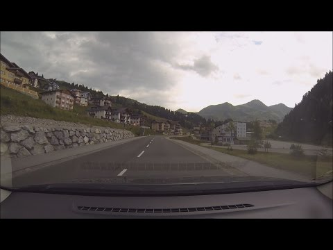 Driving in Beautiful Austria (Tenneck - Obertauern - Spittal)
