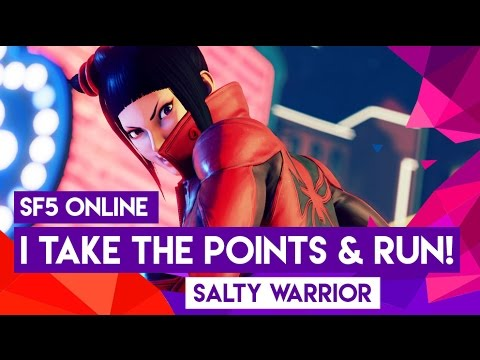 I TAKE THE POINTS AND RUN!  SF5 Juri Ranked Online (PC Mods) - Ep 23