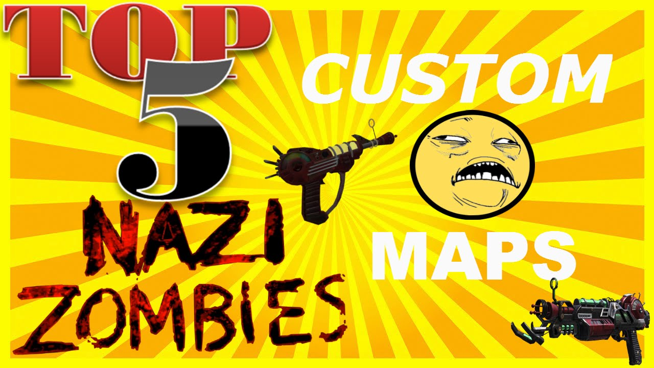 TOP 5 BEST Custom Zombie Maps In Call Of Duty World at War! MODDED ZOMBIES