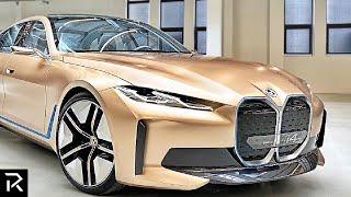 The Golden BMW Built To Beat Tesla