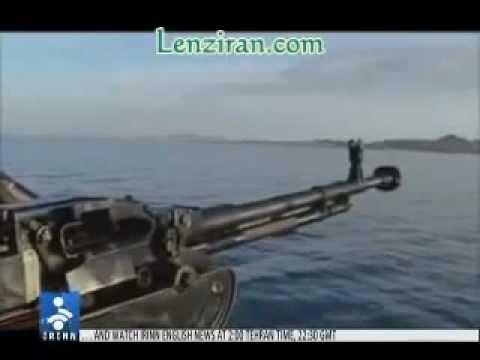 IRAN NAVY POWER WILL DESTROY U.S.A. NAVY 5TH FLEET