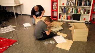 TWO DRUNK GUYS TRY TO ASSEMBLE IKEA FURNITURE - Dead Drunk but Trying Ep. 01