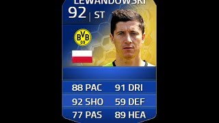 FIFA 14 TOTS LEWANDOWSKI 92 Player Review & In Game Stats Ultimate Team