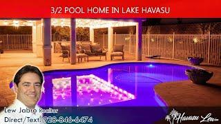 Lake Havasu Pool Homes for sale at 3207 Gatewood Dr