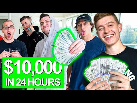 Who Can Make the Most Money in 24 Hours Challenge