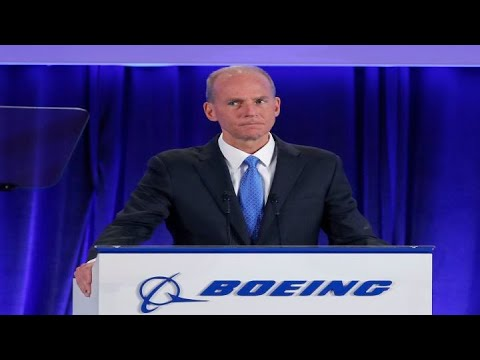 Here's what investors are watching for from the Boeing CEO's speech