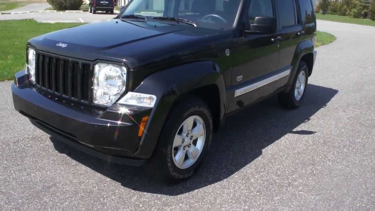 sold 2011 jeep liberty limited 70th anniversary for sale 4x4 leather heated seats salvage. Black Bedroom Furniture Sets. Home Design Ideas
