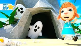 New 3D Cartoon For Kids ¦ Dolly And Friends ¦ Ghost Monster in the Cave #52