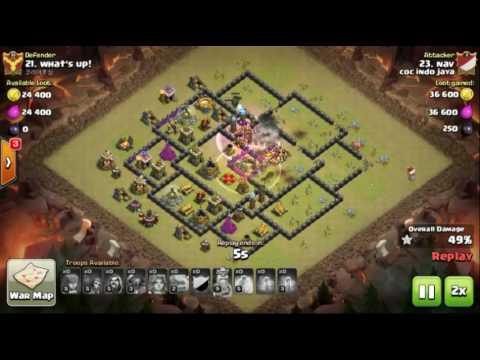 Base War Th 10 Terkuat Aneh Th 10 Prematur Tahan Serangan
