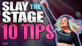 Stage Performance Tips For Singers (Slay the Stage 🔥) | How to Improve Your Stage Presence