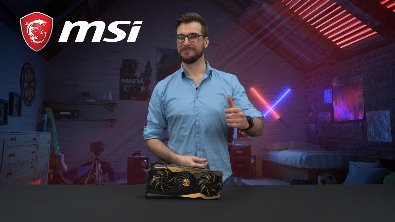 RTX 2080 Ti LIGHTING Z - The most extreme graphics card | Gaming Graphics Card | MSI