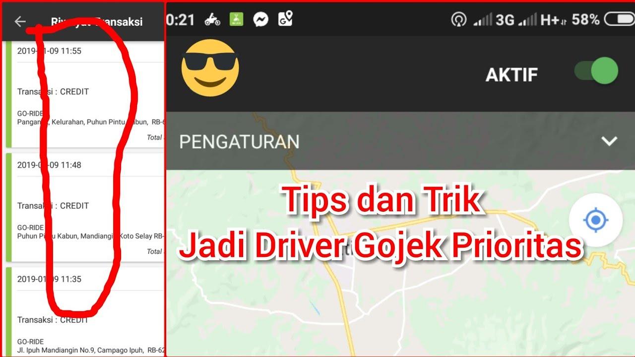 Tips Dan Trik Jadi Driver Gojek Prioritas Berbagi Pengalaman Pribadi Youtube