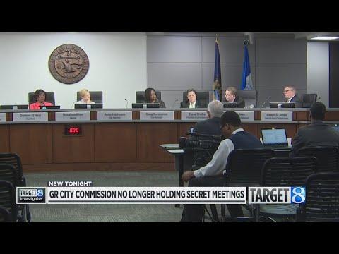 Grand Rapids ends secret meetings exposed by Target 8